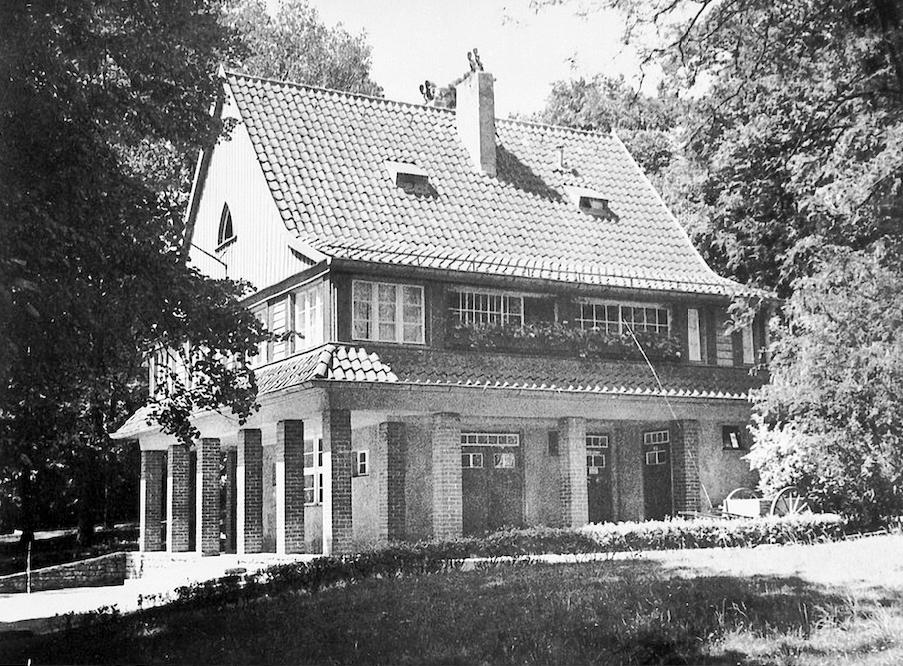 Das Parkwächterhaus um 1939