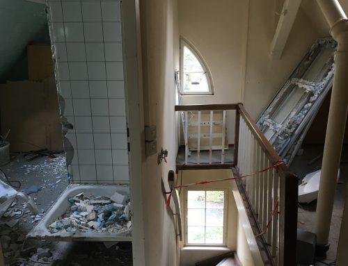 Sanierungsarbeiten sind gestartet