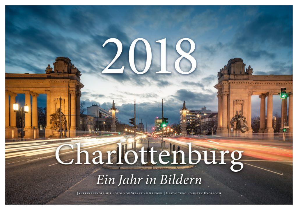 Cover Jahreskalender 2018 – Spaziergang durch den Lietzenseepark