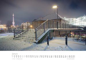Der Charlottenburg-Kalender 2018 – Januar