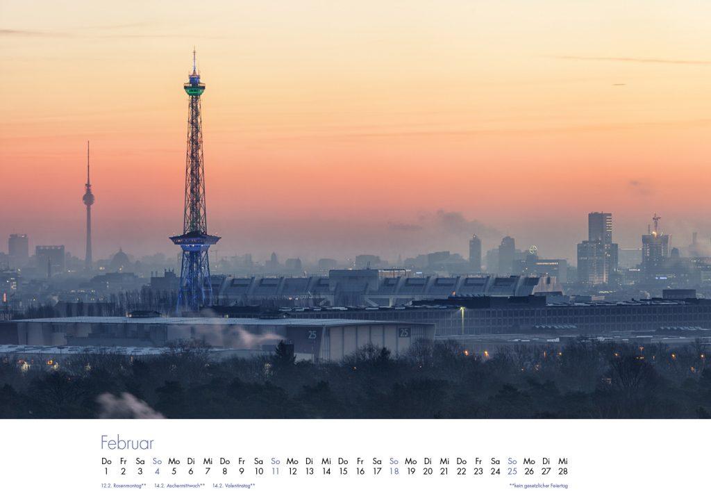 Der Charlottenburg-Kalender 2018 – Februar