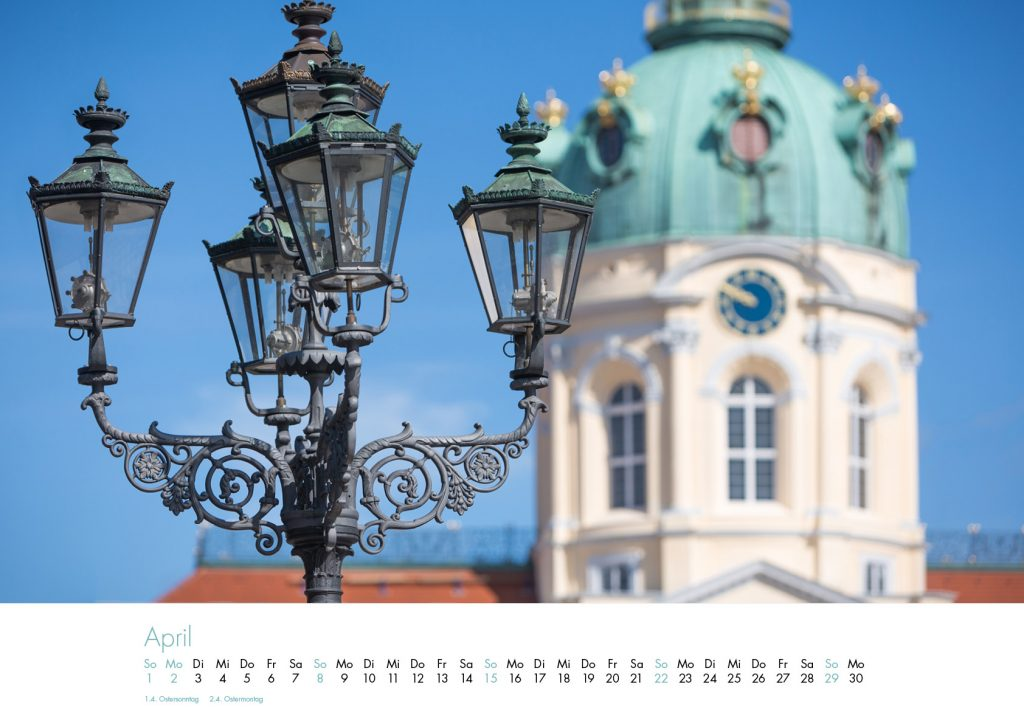 Der Charlottenburg-Kalender 2018 – April
