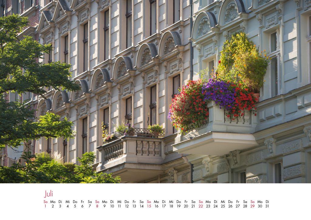 Der Charlottenburg-Kalender 2018 – Juli
