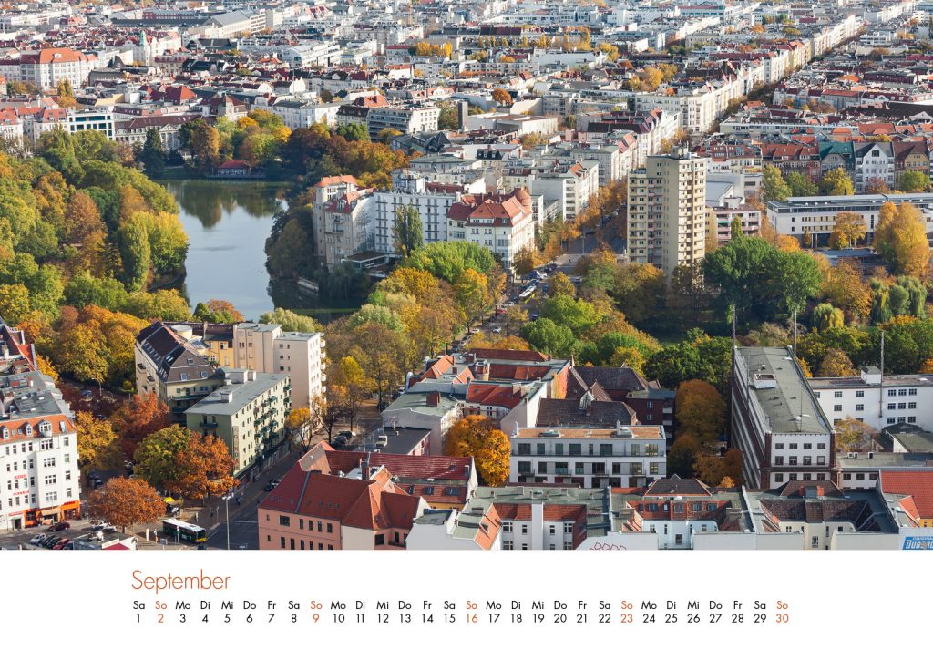 Der Charlottenburg-Kalender 2018 – September