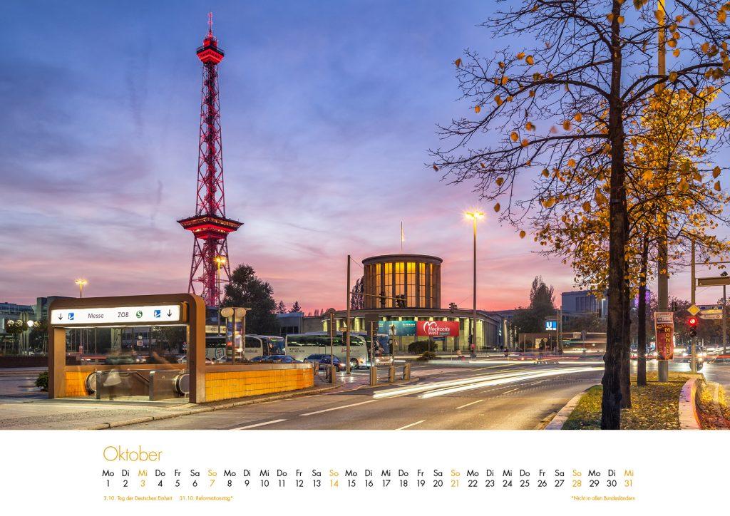 Der Charlottenburg-Kalender 2018 – Oktober