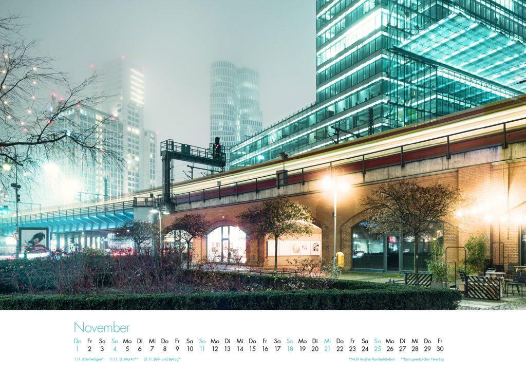 Der Charlottenburg-Kalender 2018 – November