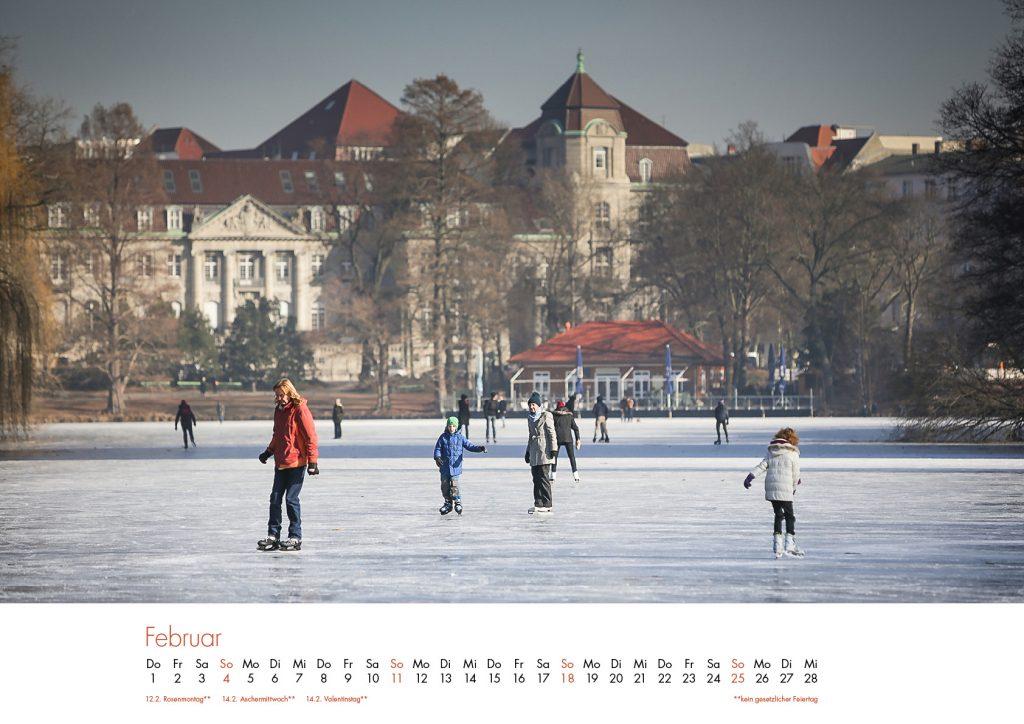 Der Lietzensee-Kalender 2018 – Februar