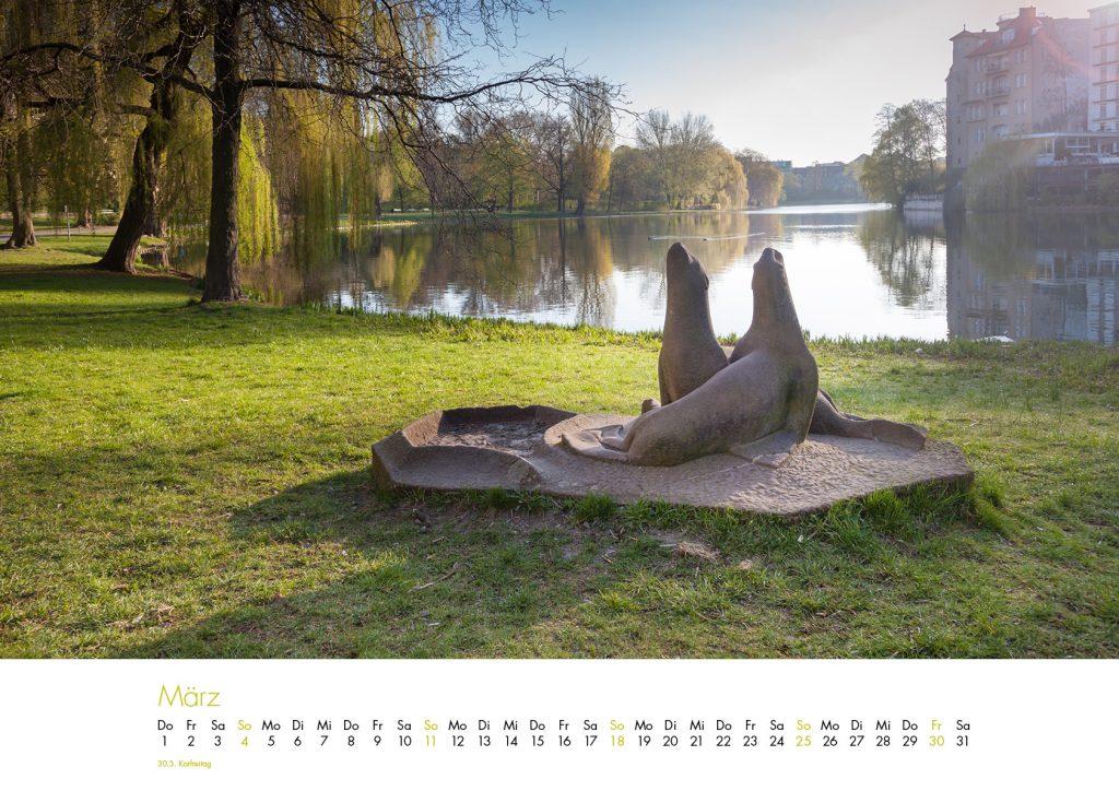 Der Lietzensee-Kalender 2018 – März