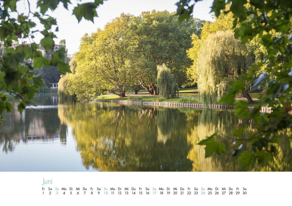 Der Lietzensee-Kalender 2018 – Juni