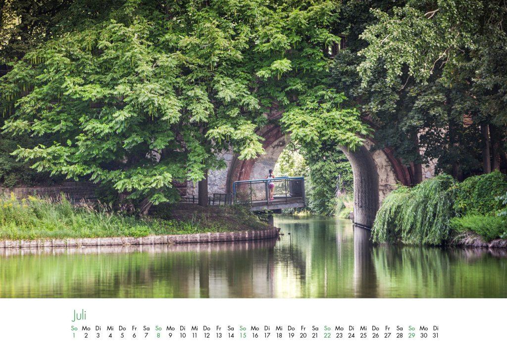Der Lietzensee-Kalender 2018 – Juli