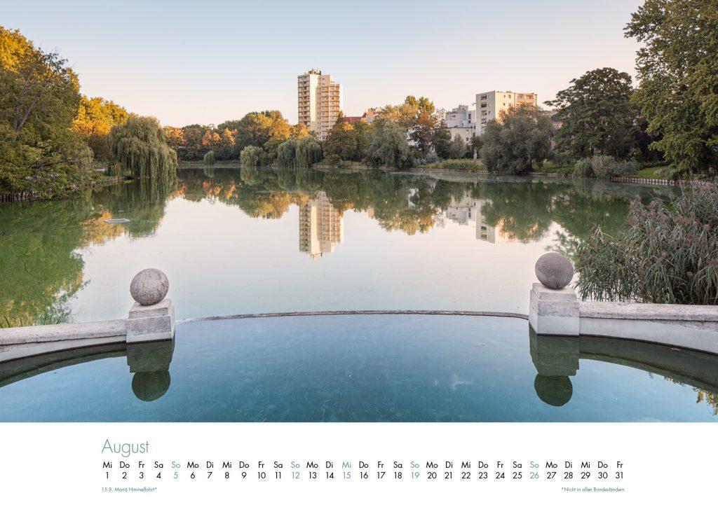 Der Lietzensee-Kalender 2018 – August