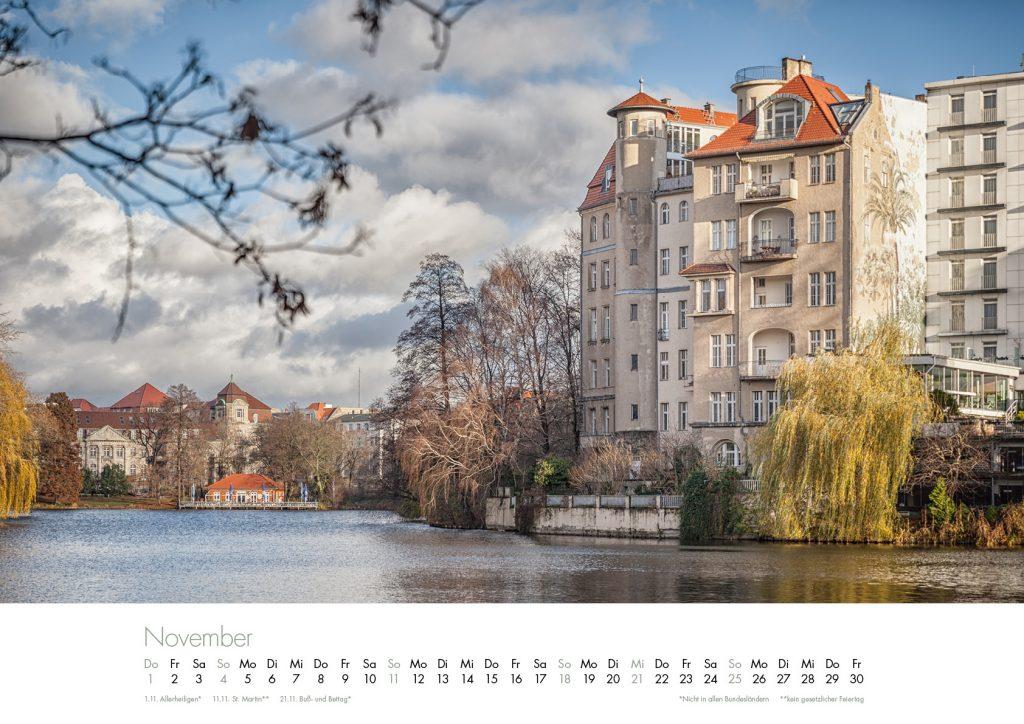 Der Lietzensee-Kalender 2018 – November