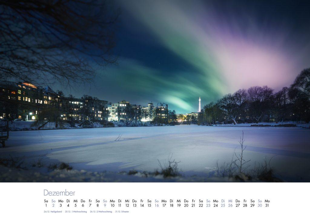 Der Lietzensee-Kalender 2018 – Dezember