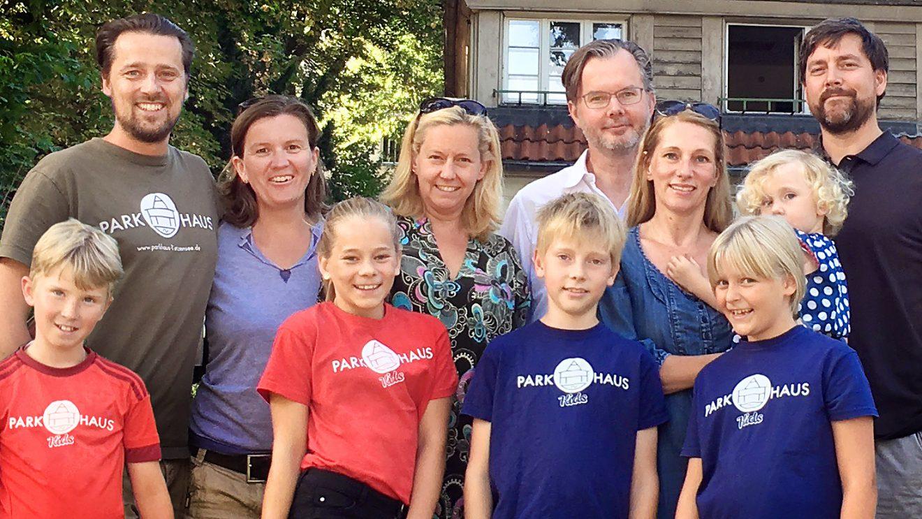 Die Gründungsmitglieder der Initiative ParkHaus Lietzensee