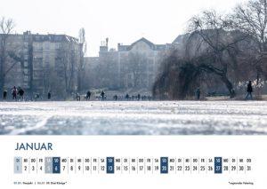 Der Lietzensee-Kalender 2019 – Januar