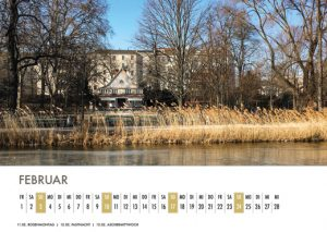 Der Lietzensee-Kalender 2019 – Februar