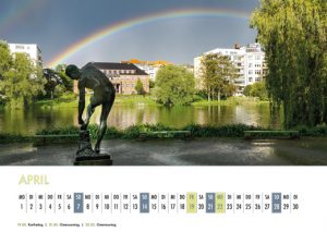 Der Lietzensee-Kalender 2019 – April