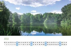 Der Lietzensee-Kalender 2019 – Juli