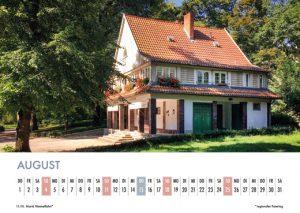 Der Lietzensee-Kalender 2019 – August