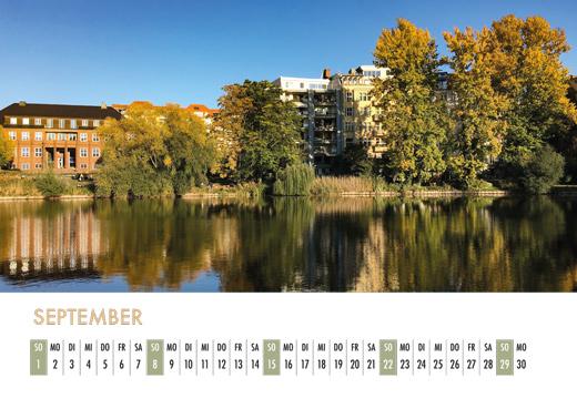 Der Lietzensee-Kalender 2019 – September