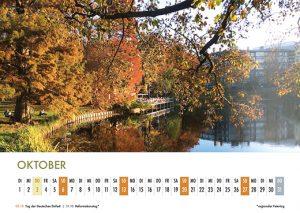 Der Lietzensee-Kalender 2019 – Oktober